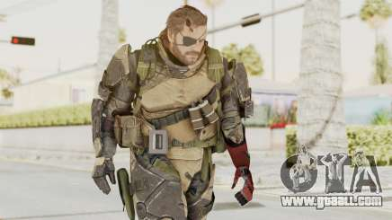 MGSV Phantom Pain Venom Snake Battle Dress for GTA San Andreas