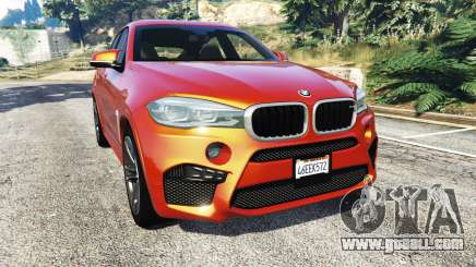 BMW X6 M (F16) v1.6 for GTA 5
