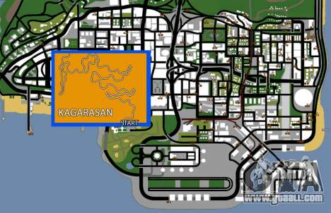 Kagarasan Track for GTA San Andreas seventh screenshot