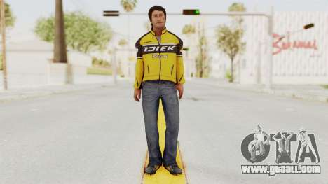 Dead Rising 3 Nick Ramos on Chucks Outfit for GTA San Andreas second screenshot