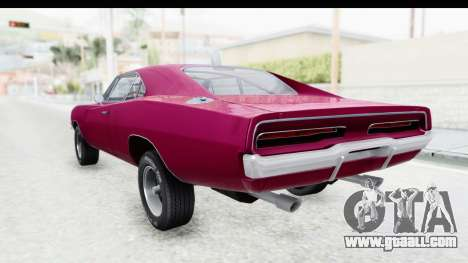 Dodge Charger 1969 Racing for GTA San Andreas left view
