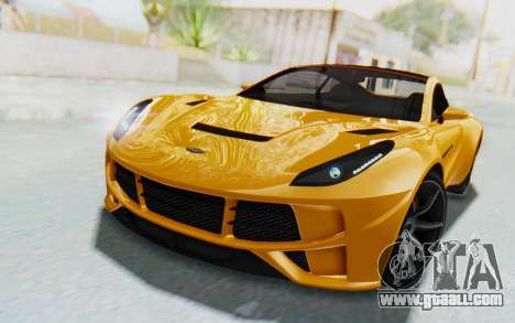 GTA 5 Dewbauchee Seven 70 IVF for GTA San Andreas