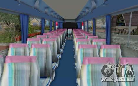 Neoplan Euro 2016 Hungarian Bus for GTA San Andreas back view