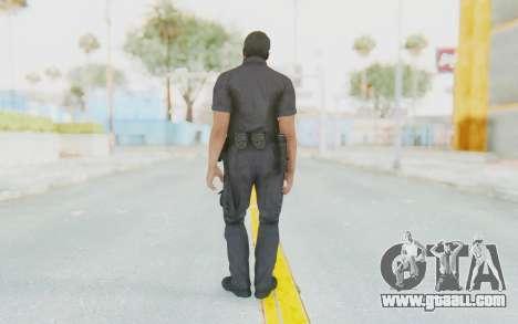 CoD BO2 LAPD v2 for GTA San Andreas third screenshot