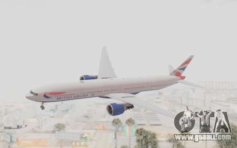 Boeing 777-300ER British Airways for GTA San Andreas
