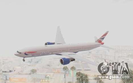 Boeing 777-300ER British Airways for GTA San Andreas