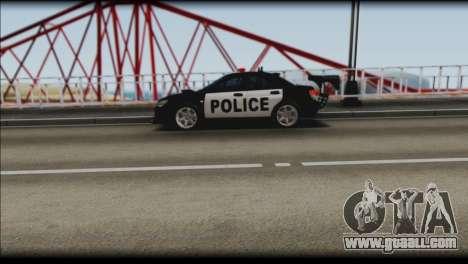 Subaru Impreza WRX STi Police Drift for GTA San Andreas right view