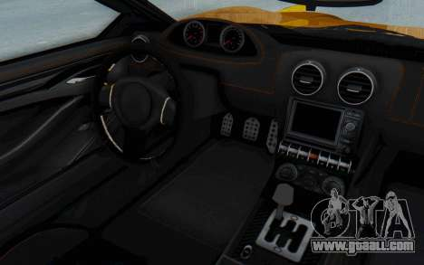 GTA 5 Dewbauchee Seven 70 IVF for GTA San Andreas right view