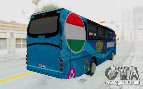 Neoplan Euro 2016 Hungarian Bus for GTA San Andreas back left view