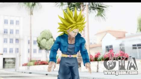 Dragon Ball Xenoverse Future Trunks SSJ2 for GTA San Andreas