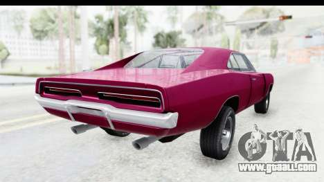 Dodge Charger 1969 Racing for GTA San Andreas right view