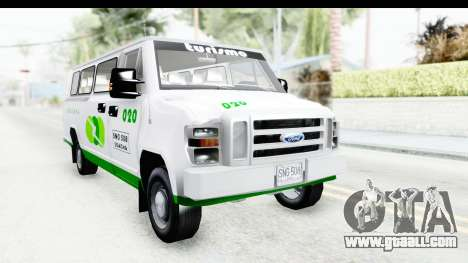 Ford Econoline 150 for GTA San Andreas