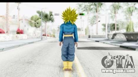 Dragon Ball Xenoverse Future Trunks SSJ2 for GTA San Andreas third screenshot