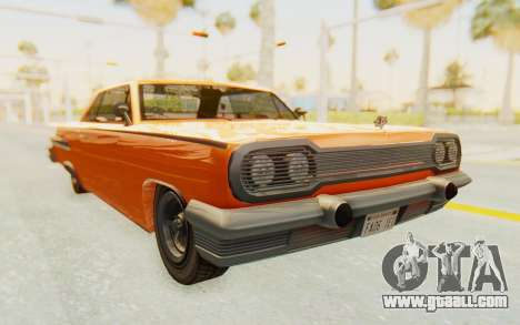 GTA 5 Declasse Voodoo Alternative v1 PJ for GTA San Andreas right view