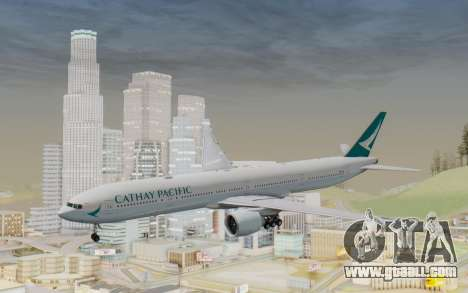 Boeing 777-300ER Cathay Pacific Airways v3 for GTA San Andreas