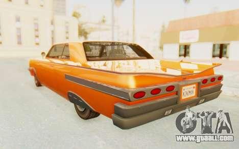 GTA 5 Declasse Voodoo Alternative v1 PJ for GTA San Andreas left view