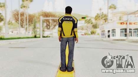 Dead Rising 3 Nick Ramos on Chucks Outfit for GTA San Andreas third screenshot