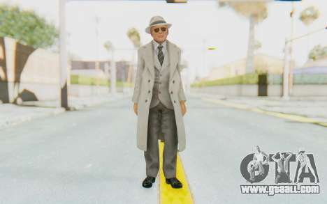 Mafia 2 - Jimmy Vendetta White Suit for GTA San Andreas second screenshot