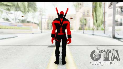 Marvel Heroes - Deadpool (Ultimate) for GTA San Andreas third screenshot