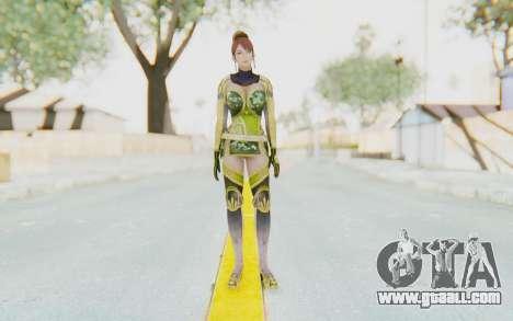 Dynasty Warriors 7 - Lian Shi v2 for GTA San Andreas second screenshot