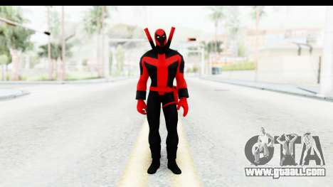 Marvel Heroes - Deadpool (Ultimate) for GTA San Andreas second screenshot