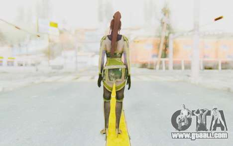 Dynasty Warriors 7 - Lian Shi v2 for GTA San Andreas third screenshot