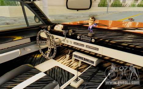 GTA 5 Declasse Voodoo Alternative v1 PJ for GTA San Andreas inner view