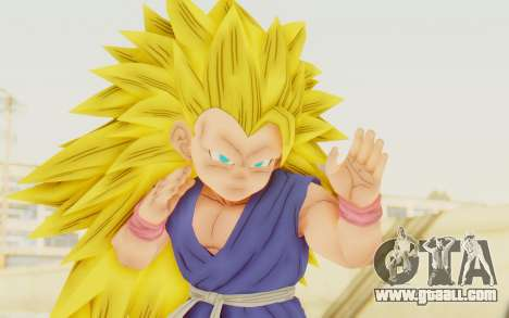 Dragon Ball Xenoverse Goku Kid GT SSJ3 for GTA San Andreas