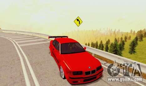 Kagarasan Track for GTA San Andreas sixth screenshot