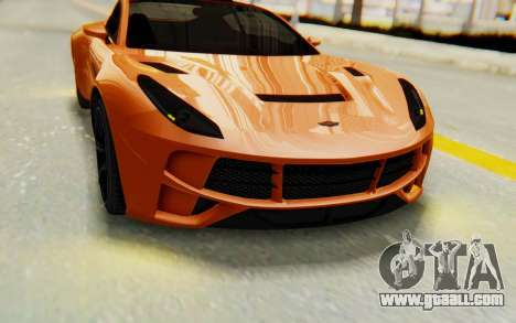 GTA 5 Dewbauchee Seven 70 IVF for GTA San Andreas inner view