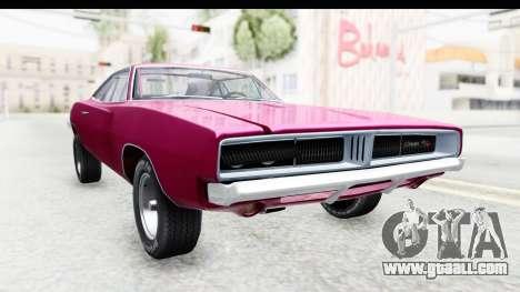 Dodge Charger 1969 Racing for GTA San Andreas