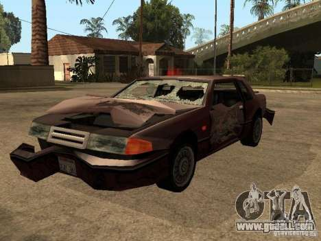 Immortal car for GTA San Andreas