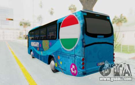 Neoplan Euro 2016 Hungarian Bus for GTA San Andreas left view