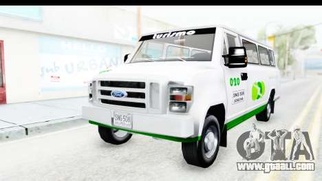 Ford Econoline 150 for GTA San Andreas back view