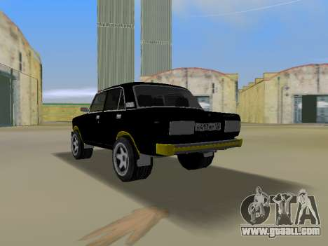 VAZ 2105 for GTA Vice City left view