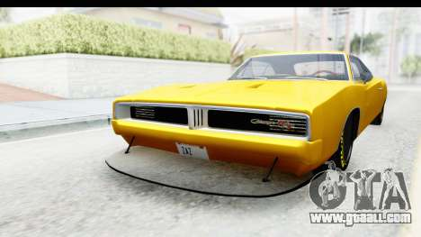 Dodge Charger 1969 Max Speed for GTA San Andreas