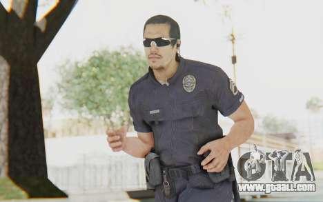 CoD BO2 LAPD v2 for GTA San Andreas