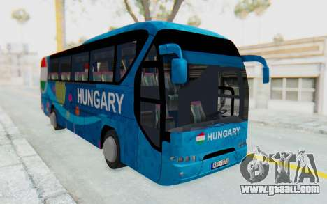 Neoplan Euro 2016 Hungarian Bus for GTA San Andreas right view