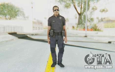 CoD BO2 LAPD v2 for GTA San Andreas second screenshot