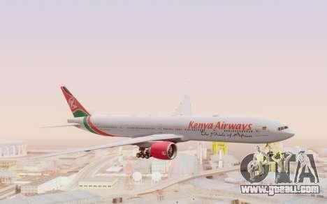 Boeing 777-300ER Kenya Airways for GTA San Andreas