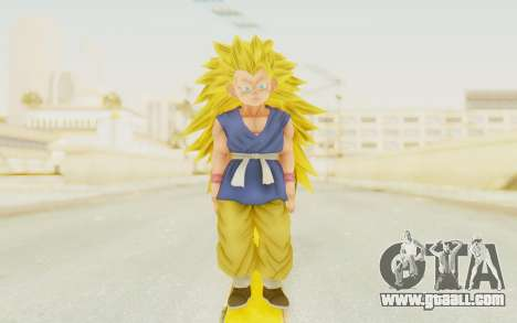 Dragon Ball Xenoverse Goku Kid GT SSJ3 for GTA San Andreas second screenshot