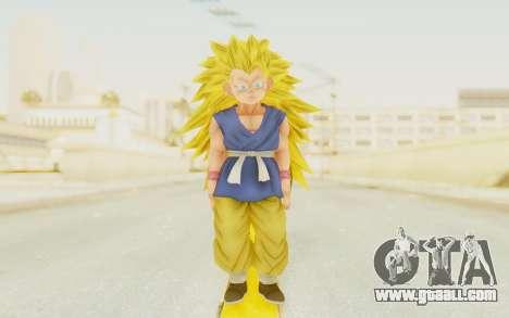 Dragon Ball Xenoverse Goku Kid GT SSJ3 for GTA San Andreas second screenshot