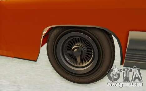 GTA 5 Declasse Voodoo Alternative v1 PJ for GTA San Andreas back view