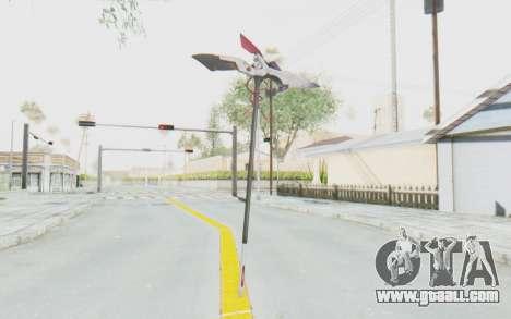 Levia Weapon for GTA San Andreas second screenshot