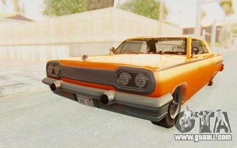 GTA 5 Declasse Voodoo Alternative v1 PJ for GTA San Andreas