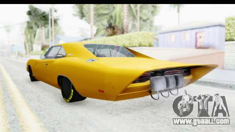 Dodge Charger 1969 Max Speed for GTA San Andreas left view
