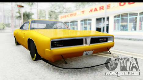 Dodge Charger 1969 Max Speed for GTA San Andreas right view