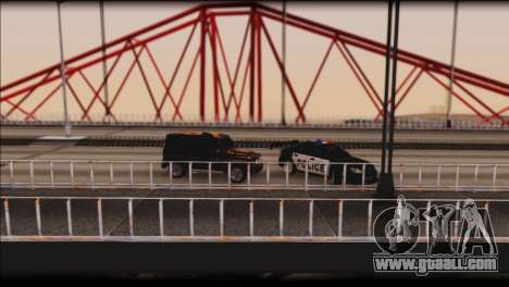 Subaru Impreza WRX STi Police Drift for GTA San Andreas upper view