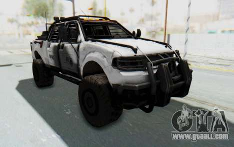 Toyota Hilux Technical MNU for GTA San Andreas