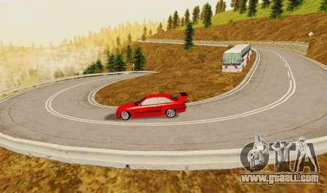 Kagarasan Track for GTA San Andreas fifth screenshot
